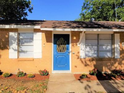 Wichita Falls TX Single Family Home For Sale: $86,000
