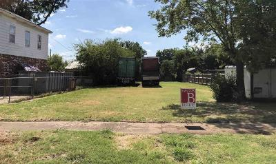 Wichita County Residential Lots & Land For Sale: 2111 Garfield Street