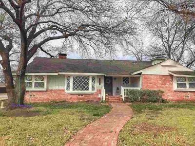 Wichita Falls Single Family Home For Sale: 1534 Mesquite Street