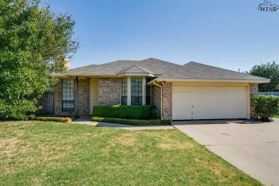 Wichita Falls TX Single Family Home For Sale: $130,000