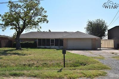 Wichita Falls Single Family Home For Sale: 3115 Old Windthorst Road