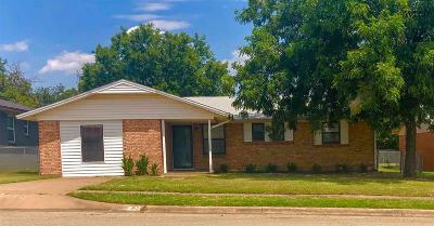 Wichita Falls Single Family Home For Sale: 4715 Gay Street
