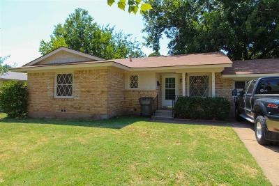 Wichita Falls Single Family Home For Sale: 4204 Preston Drive