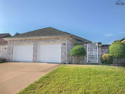 Wichita Falls TX Single Family Home For Sale: $169,750