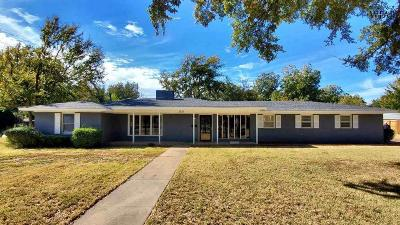 Wichita Falls Single Family Home For Sale: 3310 Glenwood Avenue
