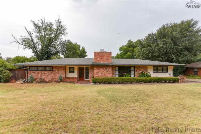 Wichita Falls Single Family Home For Sale: 3503 Seymour Road