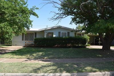 Wichita Falls TX Single Family Home For Sale: $106,000