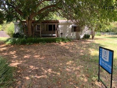 Wichita County Single Family Home For Sale: 603 Park Street