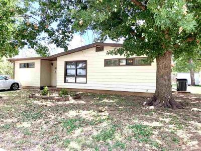Wichita Falls TX Single Family Home For Sale: $55,000