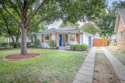 Wichita Falls Single Family Home For Sale: 2016 Victory Avenue