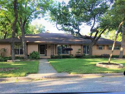 Wichita Falls Single Family Home For Sale: 2411 Clayton Lane