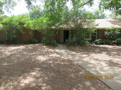 Wichita Falls TX Single Family Home For Sale: $146,000