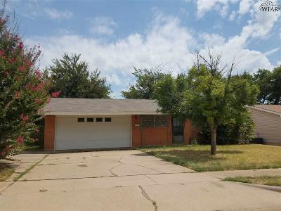 Wichita Falls Single Family Home For Sale: 2721 Byrne Place