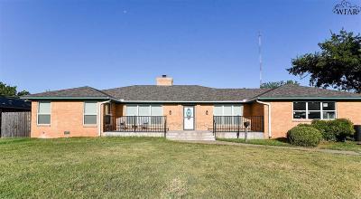 Wichita County Single Family Home For Sale: 1706 Cedar Avenue