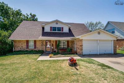 Iowa Park Single Family Home Active-Contingency: 701 W Coleman Avenue
