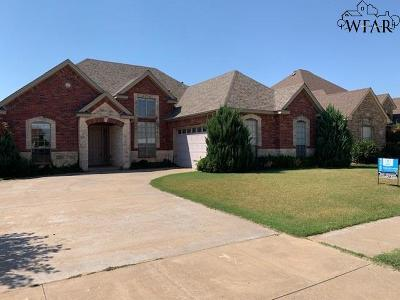 Wichita Falls Single Family Home For Sale: 5431 Prairie Lace Lane