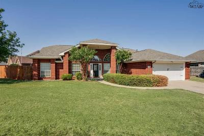 Wichita Falls Single Family Home For Sale: 1 Casa Grande Court