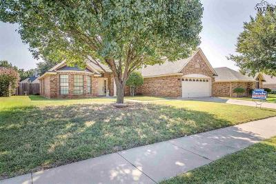 Wichita Falls Single Family Home For Sale: 4533 Wendover Street