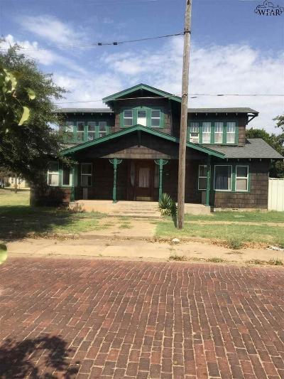 Wichita Falls Single Family Home For Sale: 301 N Wichita