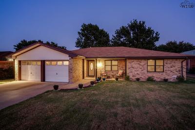 Wichita Falls Single Family Home For Sale: 5509 Greentree Avenue