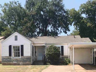 Wichita Falls Single Family Home For Sale: 2104 Monroe Street
