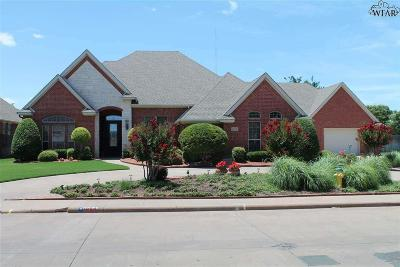 Wichita Falls Single Family Home For Sale: 1604 Tanglewood Drive