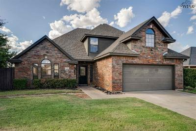 Wichita Falls Single Family Home For Sale: 1732 Rockridge Drive