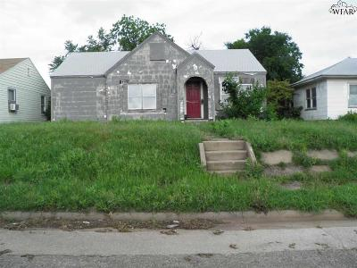 Wichita Falls Single Family Home For Sale: 520 Sunset Drive