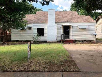 Wichita Falls Single Family Home For Sale: 1713 Lucile Avenue