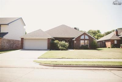 Wichita Falls Single Family Home For Sale: 4854 Tortuga Trail
