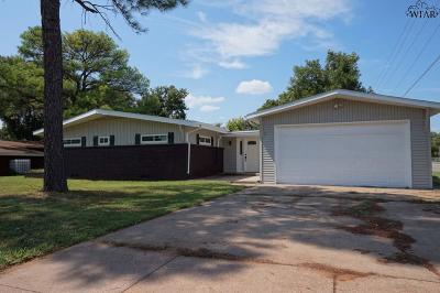Wichita Falls TX Single Family Home For Sale: $169,000