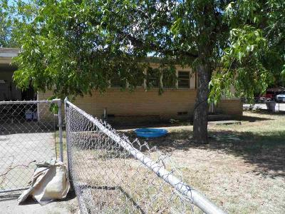 Wichita Falls TX Single Family Home For Sale: $34,900