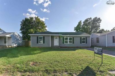 Wichita Falls TX Single Family Home For Sale: $135,900