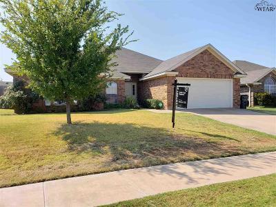 Wichita Falls TX Single Family Home For Sale: $203,900