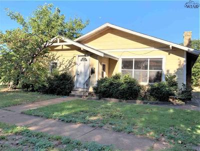 Wichita Falls TX Single Family Home For Sale: $46,750