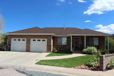 Parowan Single Family Home For Sale: 495 E 200 S