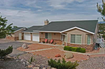 Cedar City Single Family Home For Sale: 1289 S Hill Crest