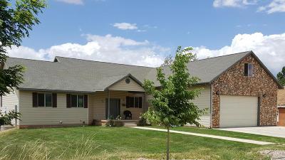 Parowan Single Family Home For Sale: 37 N 500 W