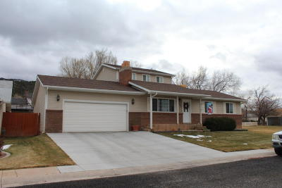 Parowan Single Family Home For Sale: 468 E 125 S