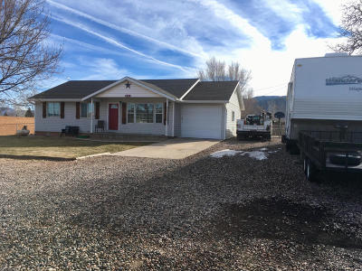Parowan Single Family Home For Sale: 342 N 200 E