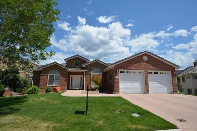 Cedar City Single Family Home For Sale: 1328 N Fairway Dr