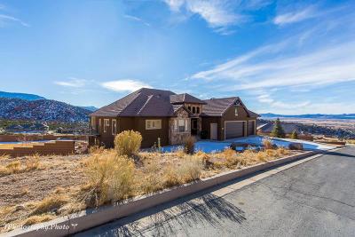 Cedar City Single Family Home For Sale: 682 E Cedar View Dr