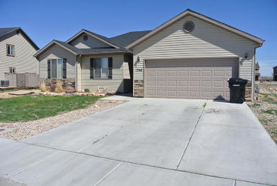Cedar City Single Family Home For Sale: 1746 W Aaron Tippets Rd