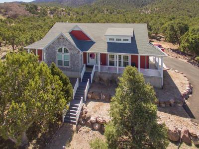 Parowan Single Family Home For Sale: 1069 W 575 S