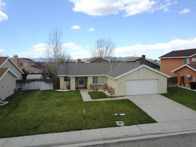 Cedar City Single Family Home For Sale: 129 N 4000 W