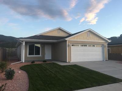 Parowan Single Family Home For Sale: 2231 W 450 S