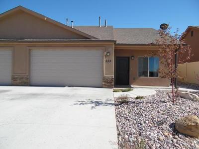 Cedar City Single Family Home For Sale: 303 W Bristlecone Dr