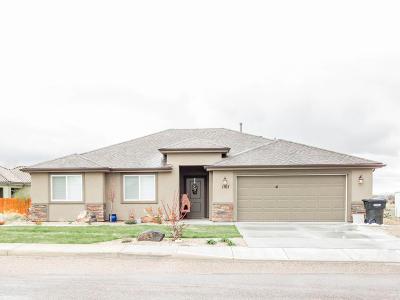 Cedar City Single Family Home For Sale: 1707 N 3450 W