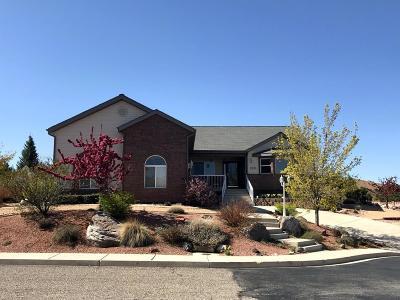 Cedar City Single Family Home For Sale: 2321 W Cody Dr