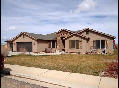 Cedar City Single Family Home For Sale: 3440 W 1850 N